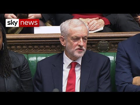 "Watch: Jeremy Corbyn appears to call the PM a ""stupid woman"""