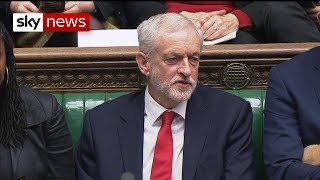 Watch: Jeremy Corbyn appears to call the PM a