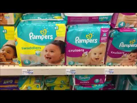 How To Coupon For Diapers At CVS