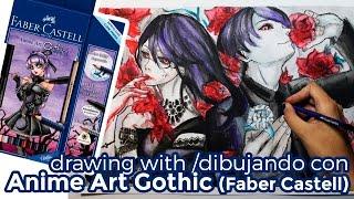 Anime Art Gothic (Faber Castell) | Probando Productos! | Diana Díaz