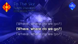 "Tijana Dapčević - ""To The Sky"" (F.Y.R. Macedonia)"