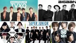 TVXQ , BIGBANG , Suju , BEAST , SS501 - Chọn Lọc Những Ca Khúc Bất Hủ của KPOP ( Part 1 )