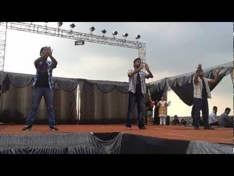 Funny Dance at Uttaranchal University Dehradun