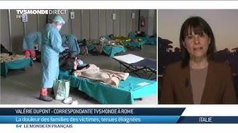 Italie : la douleur des familles des victimes