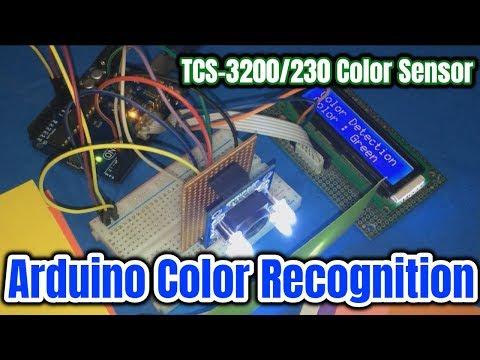 Arduino Color Detection Using TCS-3200 / TCS-230 Color Sensor