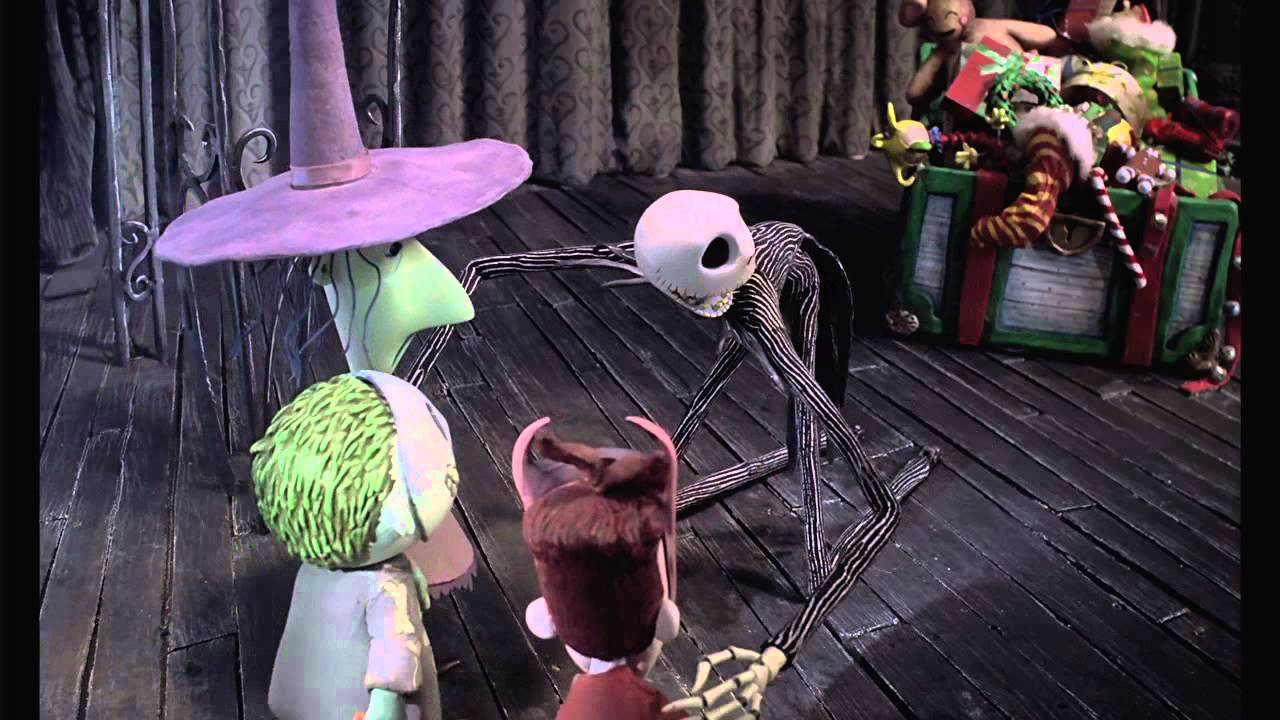 The Nightmare Before Christmas 3D: Planning Christmas Clip - YouTube