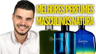 TOP 08 MELHORES PERFUMES MASCULINOS NATURA