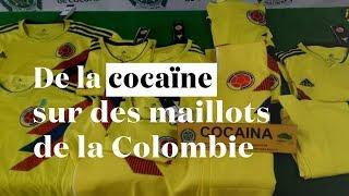Colombie : des maillots de foot imprégnés de cocaïne pendant le Mondial