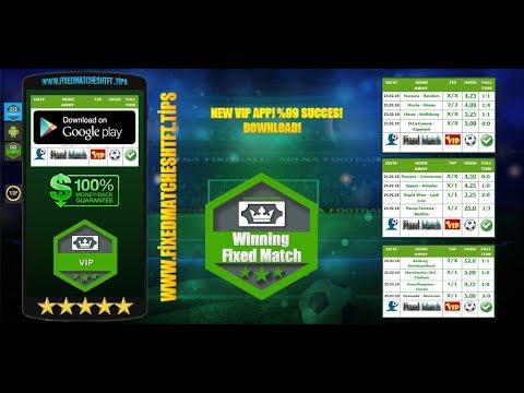 Winning Fixed Match VIP APP! %99 SUCCES! DOWNLOAD!