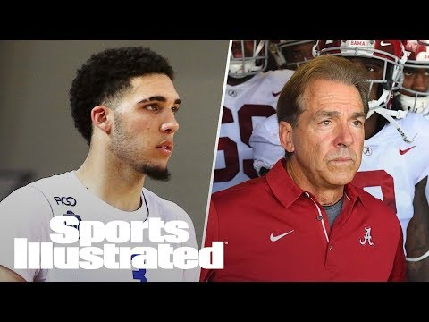 LiAngelo, LaMelo Ball Make Debut In Lithuania, Nick Saban To Giants? | LIVE | Sports Illustrated