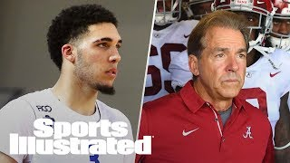 LiAngelo, LaMelo Ball Make Debut In Lithuania, Nick Saban To Giants? | SI NOW | Sports Illustrated