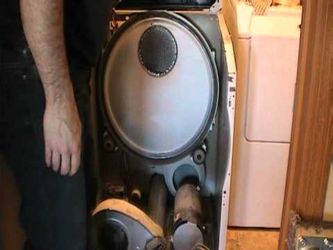 Maytag Neptune Front Load Dryer Repair how to - YouTube
