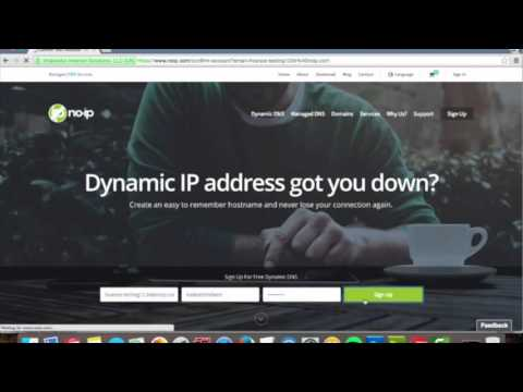 Create a Free Dynamic DNS Account with No-IP
