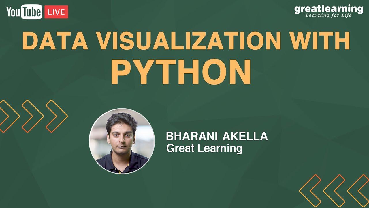 Data Visualization With Python | Data Visualization | Python For Data Science