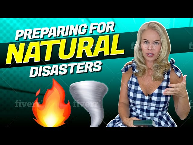 How To Prepare Your Home For Natural Disasters (Homeowners & Renters - First Time Home Buyer Tips) 🏡