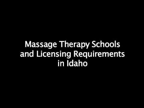 Massage Therapy Schools in Idaho - Requirements for License & Certification