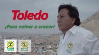 Spot Alejandro Toledo - Para Volver a Crecer