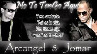 """Jomar ft.  Arcangel  """"No te tengo Aqui""""  Original.."""