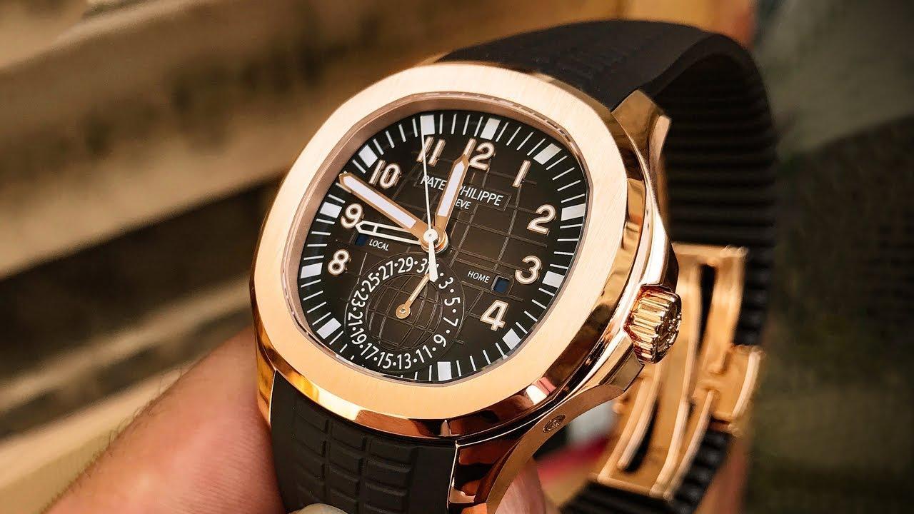 Patek Philippe Aquanaut 5164r Luxury Watch Review Youtube
