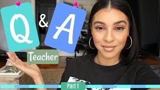 High school Teacher Q & A| Credentials| Work Balance