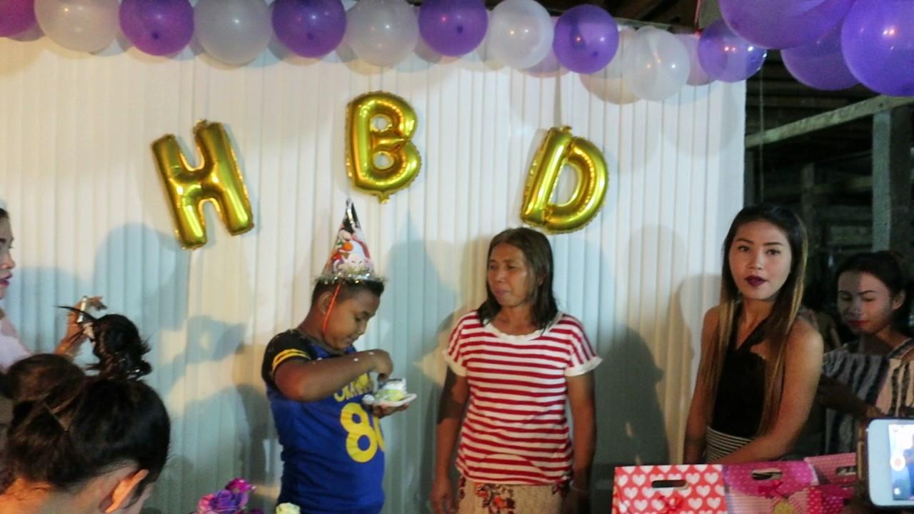Happy 12th Birthday Party At Battambang Cambodia
