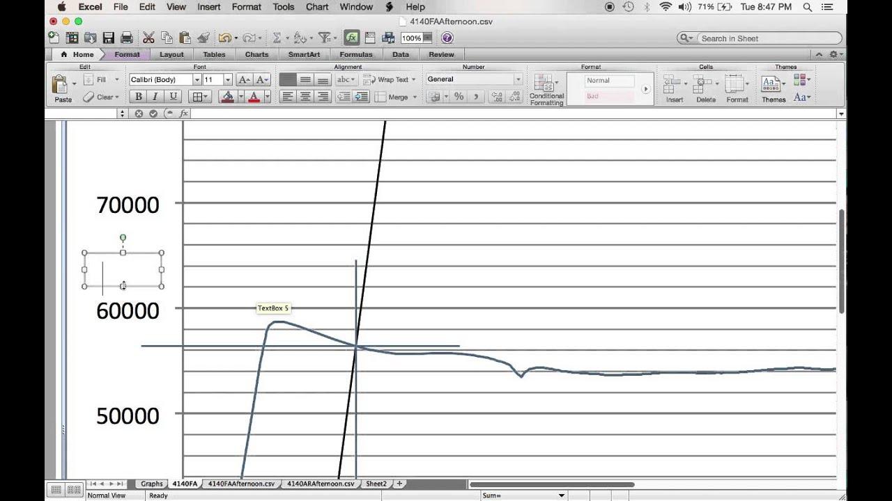 stress-strain curve plotting tutorial using excel