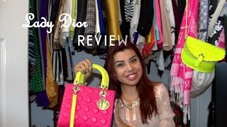 Lady Dior Purse Review Thumbnail