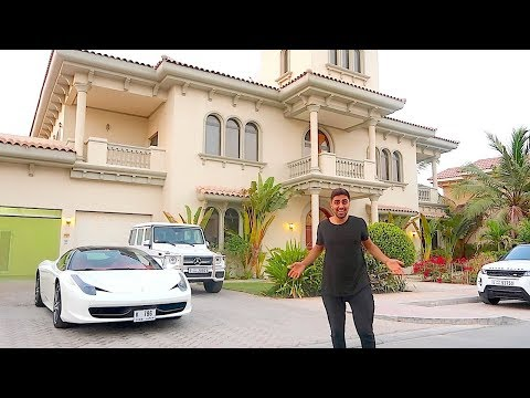 MY NEW DUBAI MANSION ...