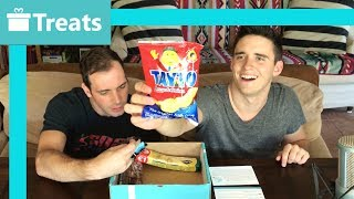 TRY TREATS! // Unboxing Snacks From Ireland