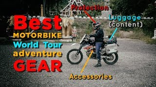 Best motorbike world tour adventure gear