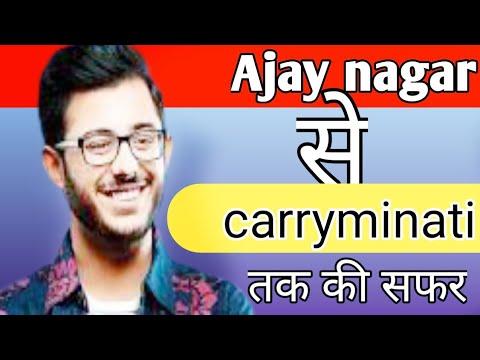 Download YouTube vs tiktok🔥 Carryminati biography/Ajay nagar/reaction/biography in hindi#tiktok/# Carryminati