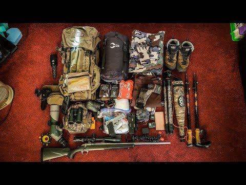 What's In My Pack? | My Self-Filming System (1 Day Rifle Hunting Edition)