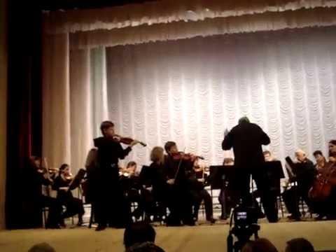 И.С.Бах Концерт ре минор (для двух скрипок) 2 часть Вильям Хайло, Матвей Блюмин