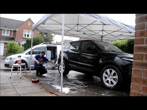 Professional Gazebo For Mobile Detailing & Valeting