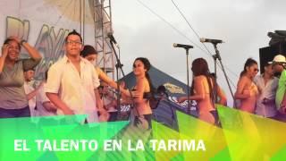 Salsa y baile en las tarimas de la playa Coatzacoalcos en semana Santa 2015