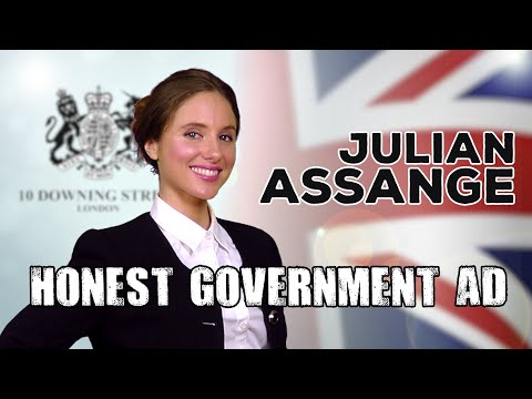 Honest Government Ad | Julian Assange
