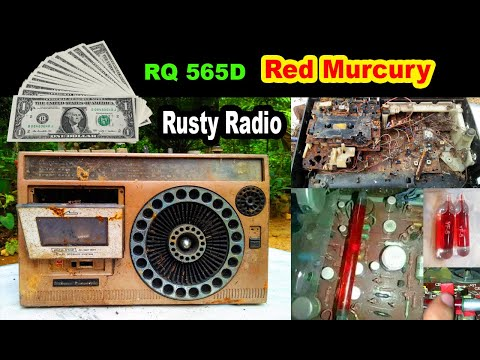 Rusty radio - Red Mercury - RQ 565D radio - How is this reuse for restoration?