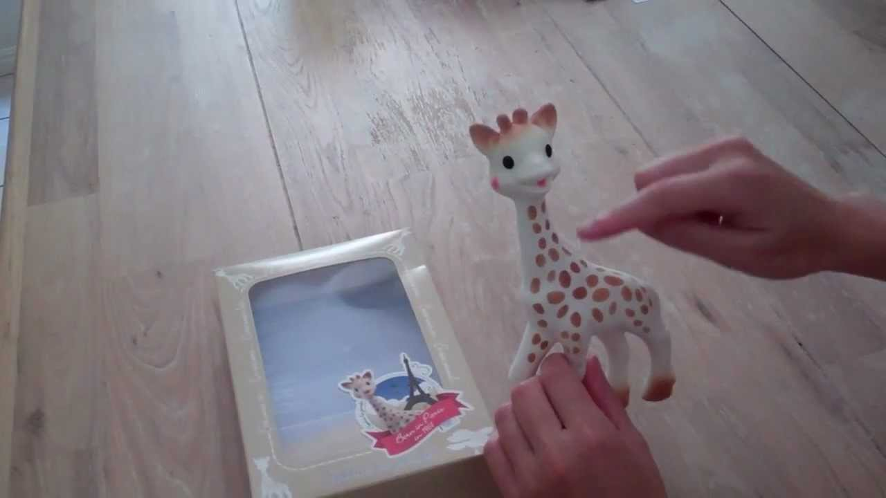 How is Sophie the Giraffe Made