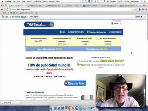 GANA DINERO VIENDO VIDEOS CON THW GLOBAL 12 MAKE MONEY WIT