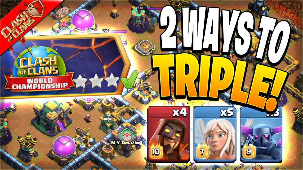 Download 2 Easy Ways to Beat the August Qualifier Challenge! (Clash of Clans)
