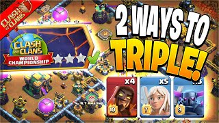 2 Easy Ways t๐ Beat the August Qualifier Challenge! (Clash of Clans)