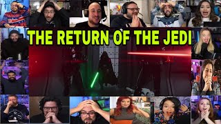 The Return of Luke Skywalker and Face Reveal on The Mandalorian 2x8 Reactions Compilation