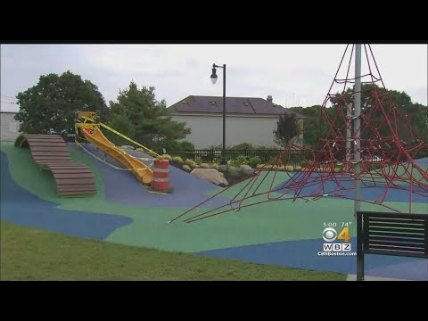 Girl's Toe Cut Off On Slide At Buzzards Bay Park Playground