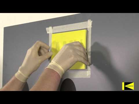 Aquasign Subsea Markers: KISS® Self-Adhesive Installation