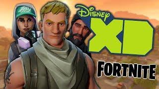 No, a Fortnite Cartoon Isn't Releasing on Disney XD