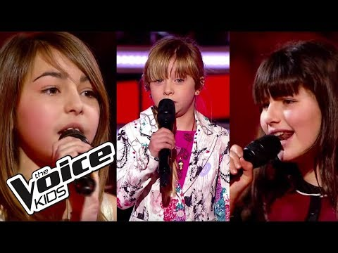 The Voice Kids 2014 | Carla, Gloria et Mina - L'homme à la moto (Edith Piaf) | Battle