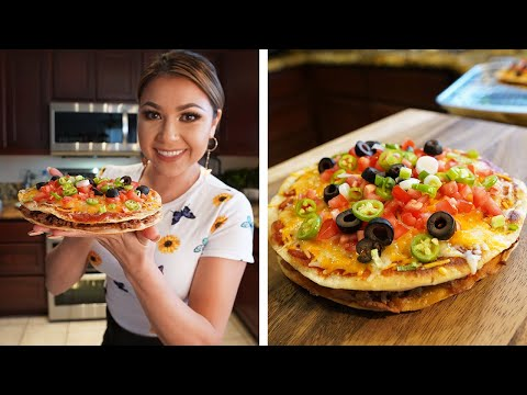 HOW TO MAKE MEXICAN PIZZA (Taco Bell Could Never!!!!)