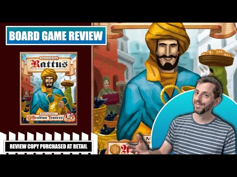 Europhile Reviews: Rattus Arabian Traders - mini expansion for board game