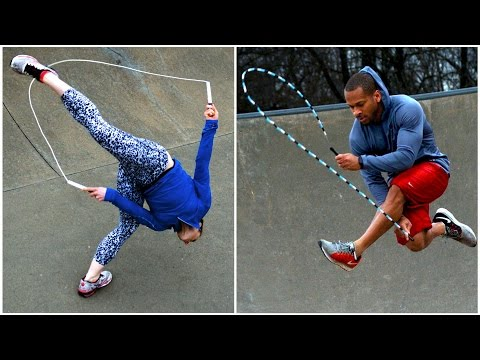World's Most Amazing Jump Roping Couple - LFTJ #2