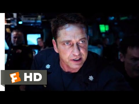 Hunter Killer (2018) - Outsmarting the Unkillable Scene (9/10) | Movieclips